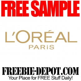 FREE SAMPLE – L'Oreal Paris Hair Care Products – Choice of FREE Samples