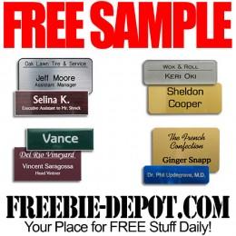 Free-Sample-Nametag