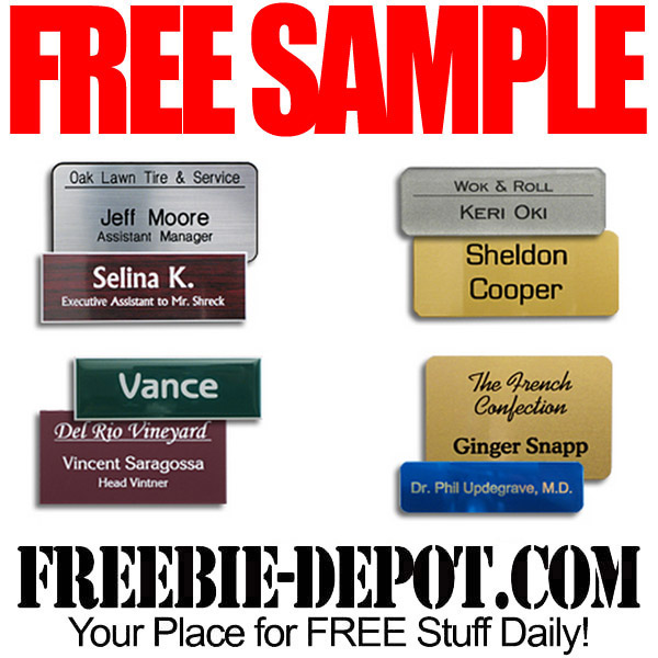 Free-Sample-Nametag