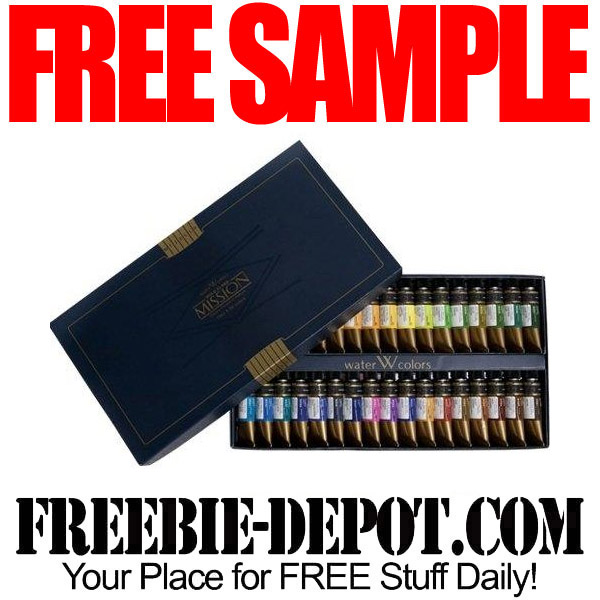 Free sample mijello mission gold watercolor paint 2 for Watercolor painting samples