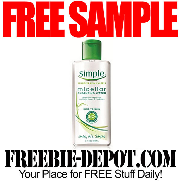 Free Sample Simple Skin Care by Mail
