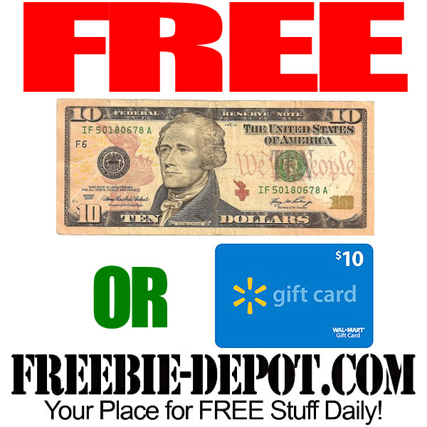 Free Ten Dollars Cash