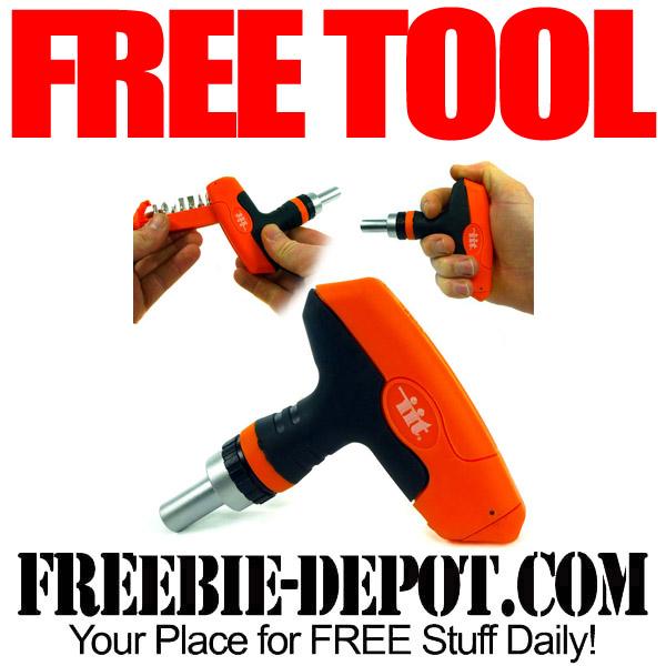 Free Tool Ratchet Set