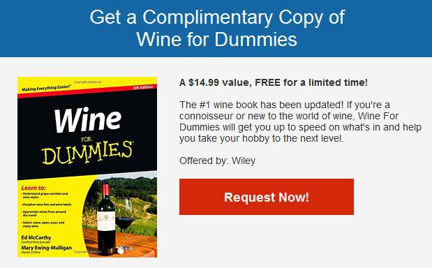 Free Wine for Dummies