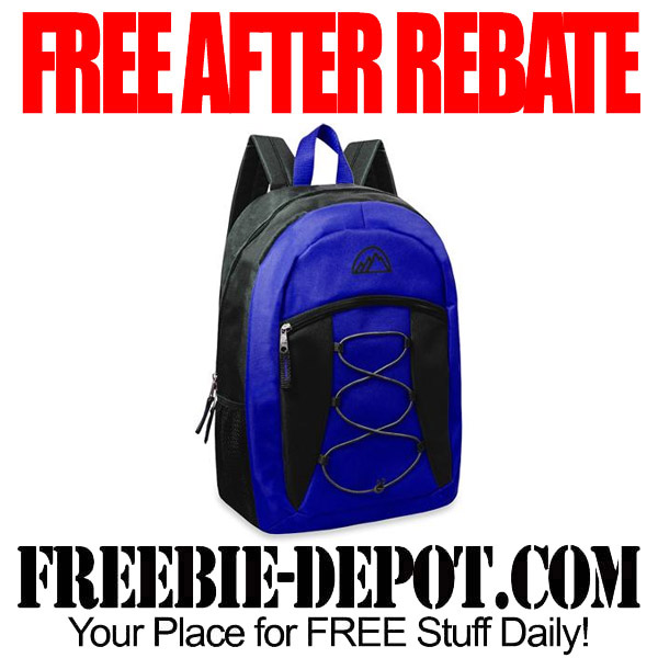 Free After Rebate Backpack from Walmart