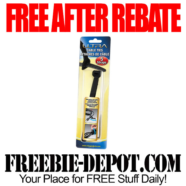 Free After Rebate Cable Ties for Electronics