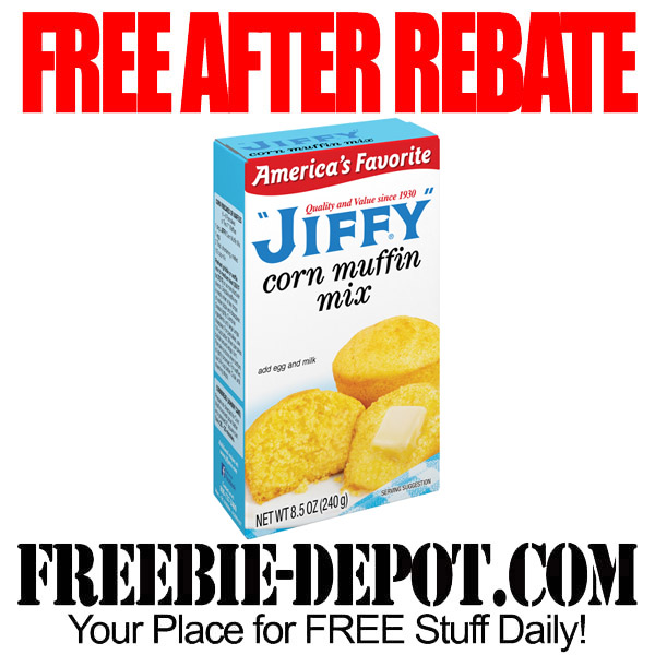 Free After Rebate  Corn Muffin Mix