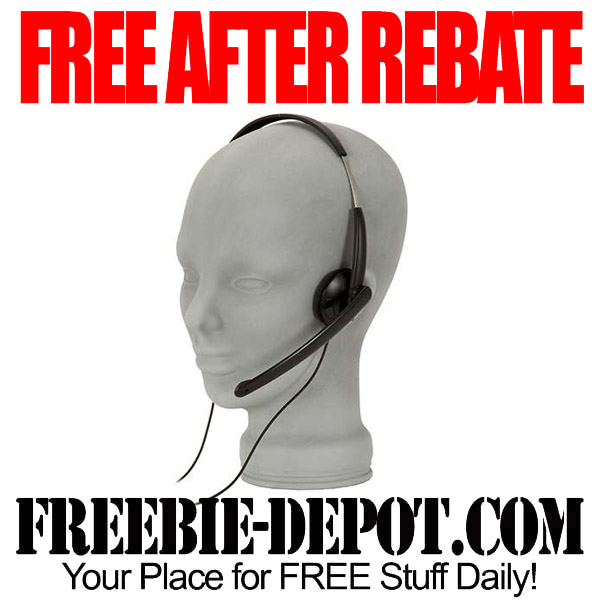 Free After Rebate Microsoft Headset
