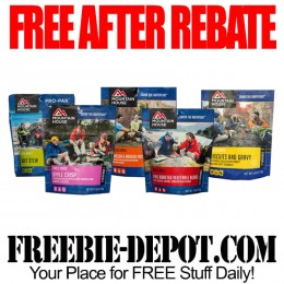 FREE AFTER REBATE – Mountain House Adventure Food Pouch – FREE Emergency Preparedness Food Pouch – Exp 12/1/16