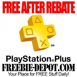 FREE AFTER REBATE – Sony PlayStation Plus – Subscription – Exp 8/27/15