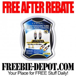 Free-After-Rebate-Subwoofer-Cable