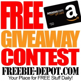 #FREE #Amazon #Giveaway #Contest – FREE $50 Amazon Gift Card – thru 9/15/15