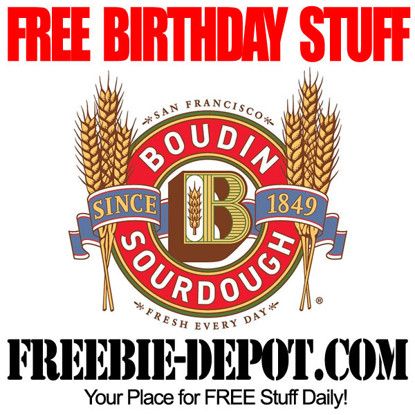 Free Birthday Treat at Boudin Bakery