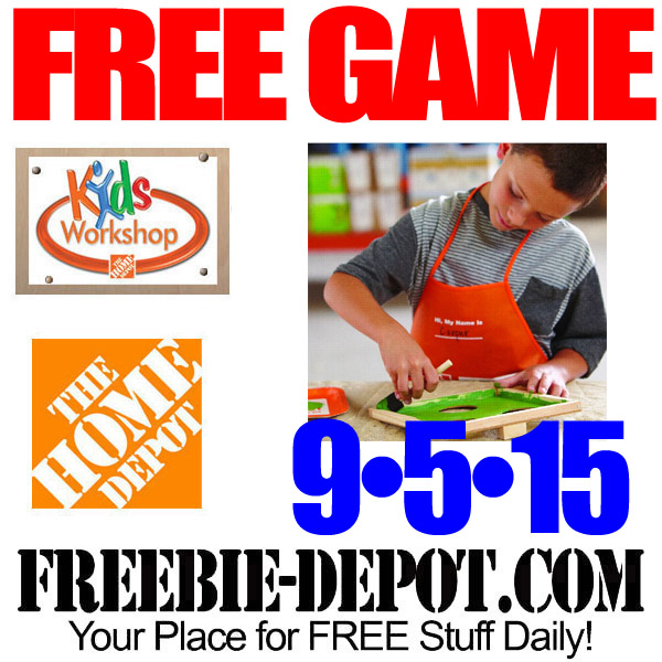 Free Football Toss Game At Home Depot Free Kid Workshop Free
