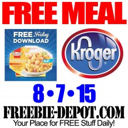 FREE Hormel Compleats Meal – Kroger Freebie Friday Download – FREE Digital Coupon – 8/7/15
