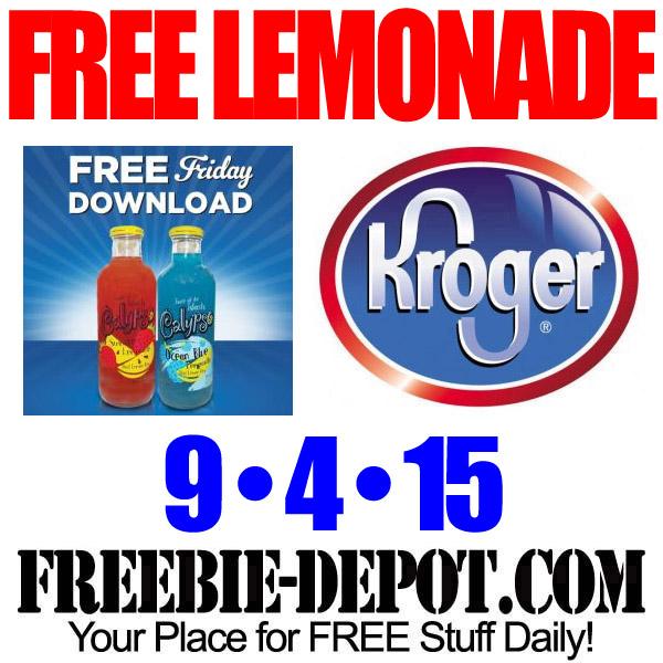 Free-Kroger-Lemonade