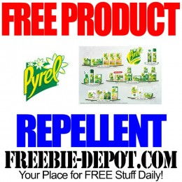 FREE Pyrel Iris Repellent – FREE Full Size Product for Testing – Exp 8/17/15