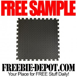 FREE SAMPLE – Rubber Flooring – 3 FREE Tile Samples