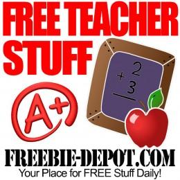 FREE Stuff for Teachers – Teacher Freebies