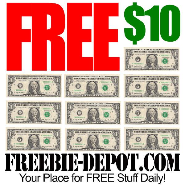 Free Ten Dollars