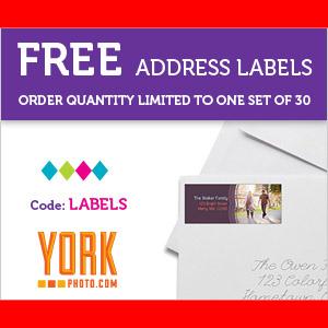 FREE Address Labels – Set of 30