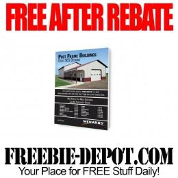 FREE AFTER REBATE – Menards Post Frame Design Book – Exp 9/13/15