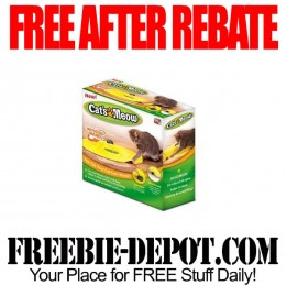 FREE AFTER REBATE – Cat's Meow Cat Toy – Exp 9/30/15