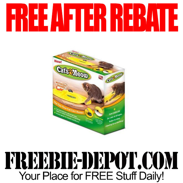 Free After Rebate Cats Meow