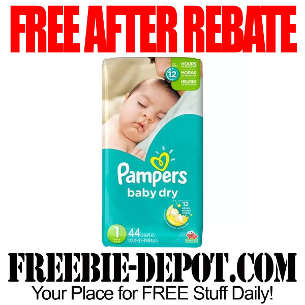 ✱✱✱ HOT ✱✱✱ FREE AFTER REBATE – Pampers Jumbo Pack at Walmart – Exp 10/5/15