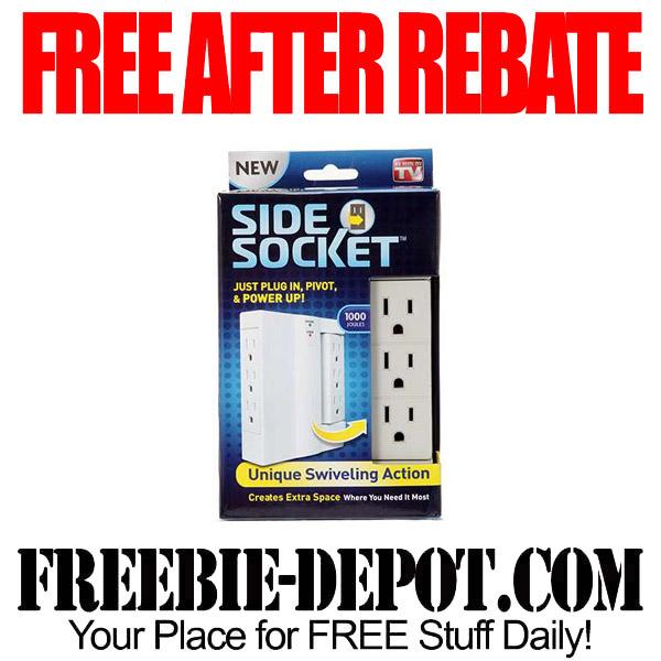Free After Rebate Side Socket Plug