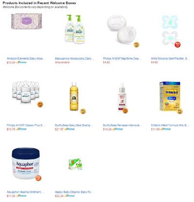 Free Amazon.com Baby Items