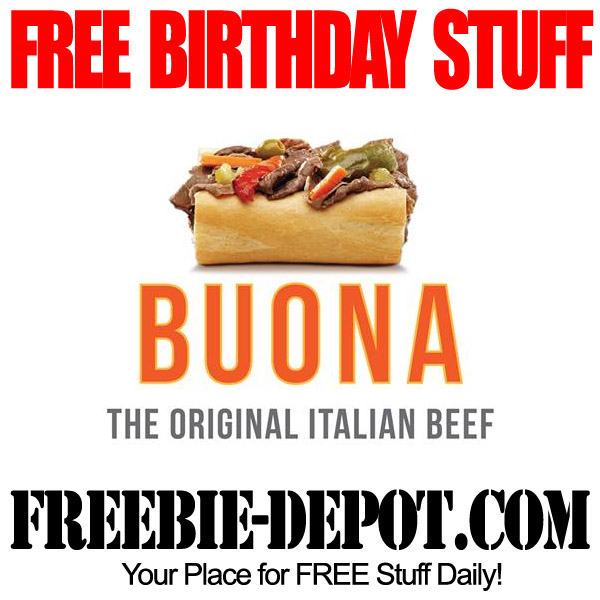 Free Birthday Beef Sandwich