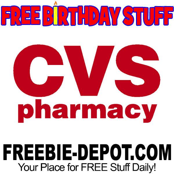 BIRTHDAY FREEBIE – CVS Pharmacy
