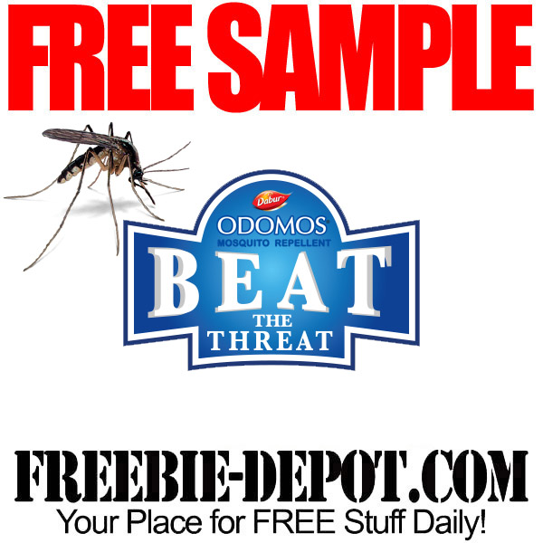 FREE SAMPLE – Odomos Mosquito Repellent