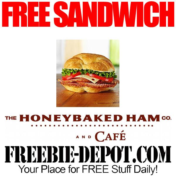 Free Sandwich of Ham