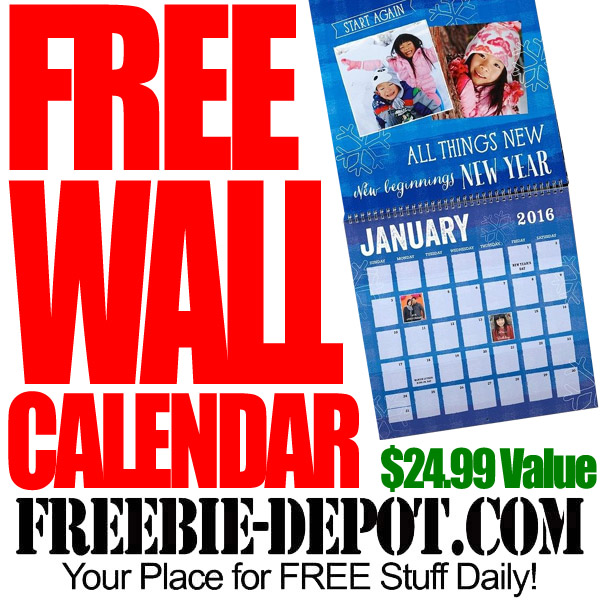 FREE Calendar by Mail
