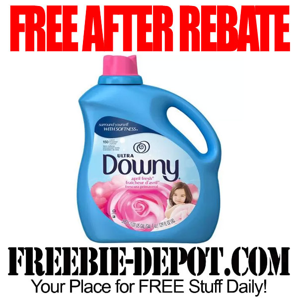 Free After Rebate Downy Ultra