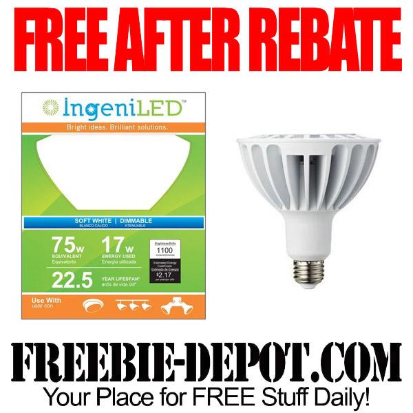 Free After Rebate LED Light Bulb