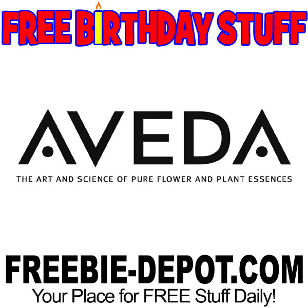 Aveda wants to celebrate your birthday by giving you a FREE birthday gift valued at $23.