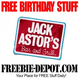 FREE BIRTHDAY STUFF – Jack Astor's Bar and Grill – FREE BDay Dessert