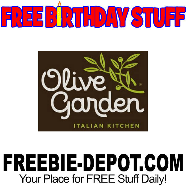 BIRTHDAY FREEBIE – Olive Garden