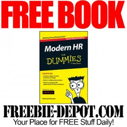 FREE BOOK ► A Modern Approach to HR For Dummies – $19.99 Value