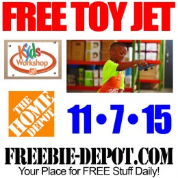 FREE Veterans Day Jet at Home Depot – FREE Kid Workshop – FREE Apron, Pin, Certificate – 11/7/15