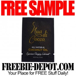 FREE SAMPLE – Nua di Cocco Experience Changing Lubricant