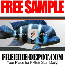 FREE SAMPLE – Pisces Pros Fish Food