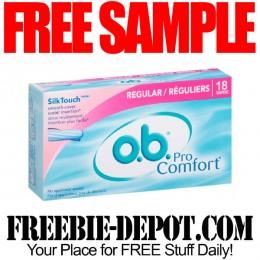 Free-Sample-Tampons