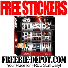 FREE Star Wars Episode 7 Sticker Box – 9-Roll – FREE Christmas Gift Idea