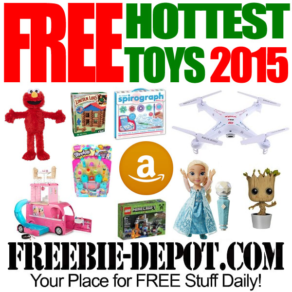 Top FREE Amazon Toys for Christmas! REALLY! FREE! Up to $80 ...