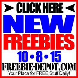 NEW FREEBIE HOTLIST – FREE Stuff for October 8, 2015