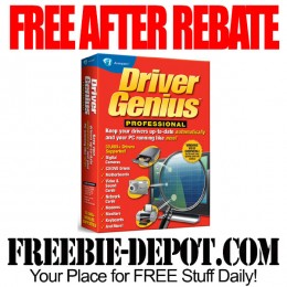 FREE AFTER REBATE – Driver Genius PC Software – Exp 2/6/16